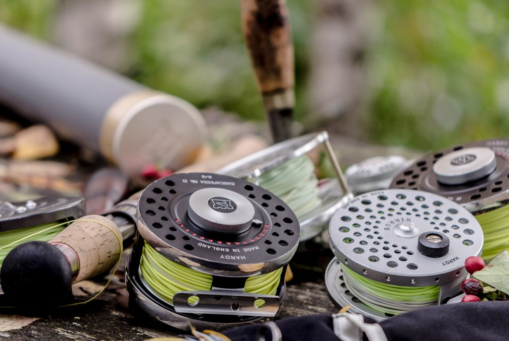Carretes pesca con mosca